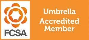 Umbrella Company UK is accredited by the FCSA